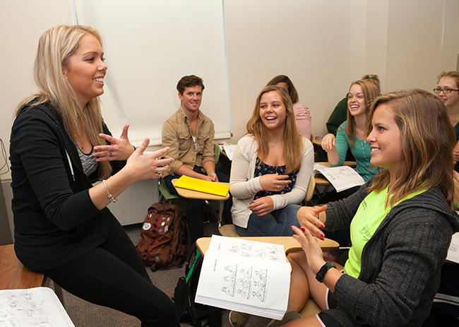 Sign Language subjects study in high school